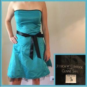 1990s Jessica McClintock for Gunne Sax Dress